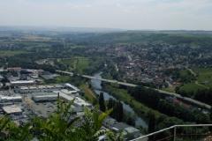 Blick auf Gewerbegebiet Bingen-Büdesheim und den Ort Münster-Sarmsheim (Photo: Bodo Sontheimer)