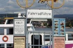 Rhein-Fahhradfähre Bundenheim (Photo: Bodo Sontheimer)