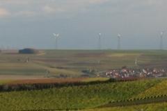 Windkraftanlagen bei Hochborn (Photo: Chr. Donnerstag)